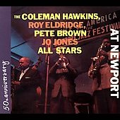 Pete Brown (Saxophone)/Coleman Hawkins/Jo Jones All Stars (Drums)/Jo Jones (Drums)/Roy Eldridge: At Newport Live