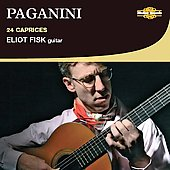 Paganini: 24 Caprices Transcribed for Guitar / Fisk