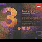 Triples - Beethoven: Piano Sonatas / Stephen Kovacevich