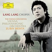 Chopin: The Piano Concertos / Lang Lang, Zubin Mehta, Vienna PO