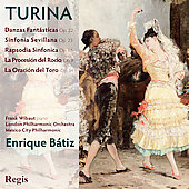 Turina: Orchestral Music / Wibaut, Nolan, Brown, B&aacute;tiz, et al