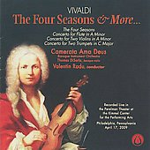 Vivaldi: The Four Seasons / Valentin Radu, Camerata Ama Deus, et al