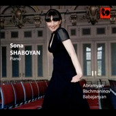 Sona Shaboyan plays Rachmaninov, Abramyan & Babajanyan