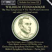 Stenhammar: The Two Symphonies, Piano Concertos, etc / J&#228;rvi