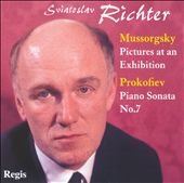 Mussorgsky: Pictures at an Exhibition; Prokofiev: Piano Sonata No. 7 / Richter, piano