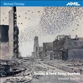 Michael Finnissy: Second & Third String Quartets / Kreutzer Quartet
