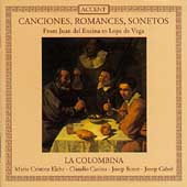 Canciones, Romances, Sonetos / La Colombina