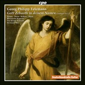 Telemann: Gott Zebaoth in deinem Namen: Cantatas Vol. 2 / Veronika Winter, Lena Susanne Norin, Jan Kobow, Ekkehard Abele