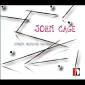 John Cage: Percussion - 10.554; Ryoanji; Variations VIII; One4; Composed Improvisation / Simone Mancuso, percussion