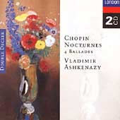 Chopin: Nocturnes, 4 Ballades / Vladimir Ashkenazy