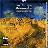 Barraqu&#233;: Oeuvres compl&#232;tes / Cambreling, Wyttenbach, et al