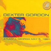 Dexter Gordon: Atlanta Georgia May 5, 1981