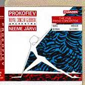 Prokofiev: The 5 Piano Concertos / Berman, Guti&eacute;rrez, J&auml;rvi