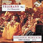 Telemann: Vol 1, La Changeante / Simon Standage