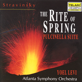 Stravinsky: The Rite of Spring, etc / Levi, Atlanta SO