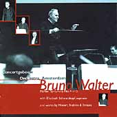 Mahler: Symphony no 4;  Mozart, Brahms, et al / Bruno Walter