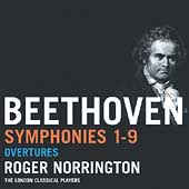 Beethoven: Symphonies no 1-9, Overtures / Norrington, London