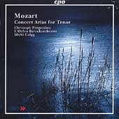 Mozart: Concert Arias for Tenor / Pr&#233;gardien, Gaigg, et al