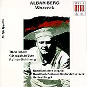 Eterna - Berg: Wozzeck / Kegel, Adam, Schr&#246;ter, Goldberg