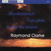 Shostakovich, Panufnik: Music for Piano / Raymond Clarke