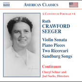 American Classics - A Continuum Portrait Vol 6 - Seeger