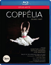 Delibes: Coppélia / Kessels, Paris National Opera Ballet [Blu-Ray]