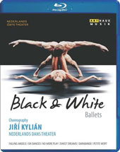 Choreographer Jiri Kylian: Falling Angels (Reich); Six Dances (Mozart); No More Play (Webern); Sarabande (J.S. Bach); Sweet Dreams (Webern); Petite Mort (Mozart) / Nederlands Dans Theater [Blu-ray]