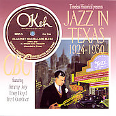 Various Artists: Jazz in Texas 1924-1930