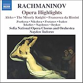 Rachmaninov: Opera Highlights / Todorov, et al