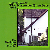 Wayne: Nuzerov Quartets no 3, 4, 5 / Wallinger Quartet