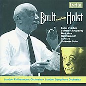Boult conducts Holst - Fugal Overture, Scherzo, Beni Mora, etc