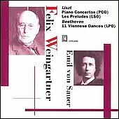 Liszt, Beethoven / Felix Weingartner, Emil von Sauer et al