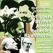 Tippett, Britten, Arnold, etc: Divertimentos & Sinfonias