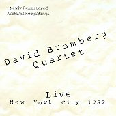 David Bromberg: Live in New York City 1982