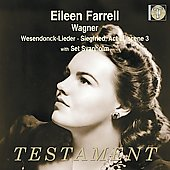 Wagner: Wesendonck Lieder, etc / Eileen Farrell, Set Svanholm, et al