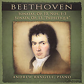 Beethoven: Sonata for Piano no 5, 6, 7 & 8 / Andrew Rangell