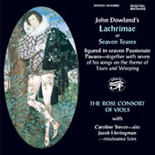 John Dowland's Lachrimae or Seaven Teares / Carolin Trevor, Jacob Herringman, Rose Consort of Viols