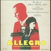 Allegro, original motion picture soundtrack (music of JS Bach) / Cyprien Katsaris, piano
