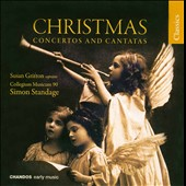 Christmas Concertos & Cantatas - Telemann: In dulci jubilo, etc / Standage, Gritton, et al