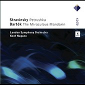 Stravinsky: Petrushka; Bart&#243;k: The Miraculous Mandarin / Nagano - London SO