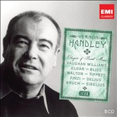 Icon: Vernon Handley - Champion of British Music / Elgar, Bliss, Walton, Tippett, et al. [5 CDs]