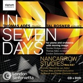 Thomas Ades: In Seven Days; Nancarrow Studies / Nicholas Hodges, piano
