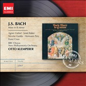 Bach: Mass in B Minor / Giebel, Baker, Gedda, Prey, Crass