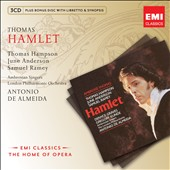 Thomas: Hamlet / Thomas Hampson, June Anderson, Samuel Ramey