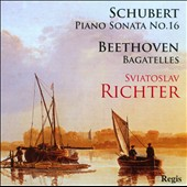 Sviatoslav Richter plays Schubert & Beethoven