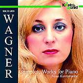 Wagner: Complete Works for Piano / Nina Kavtaradze