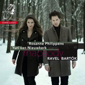 Bartok: Rhapsodies Nos.1-2, Romanian Folk Dances; Ravel: Tzigane, Violin Sonata No.2; Hubay: Sc&egrave;ne de la cs&aacute;rda No.4; Rosanne Philippens, violin; Yuri van Nieuwkerk, piano