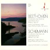 Beethoven: Violin Concerto;  Schumann: Piano Concerto