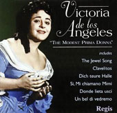 The Modest Prima Donna / De los Angeles, Borelli, et al