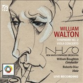 William Walton: Symphony No. 2; Viola Concerto; Spitfire Prelude and Fugue; Crown Imperial March / Roberto Diaz, viola; Haven SO, Boughton